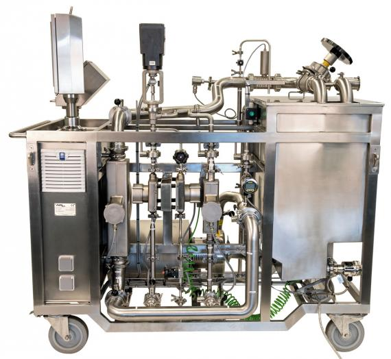 Insatech Pharma Flow Calibration Rig for Flow Meter Calibration