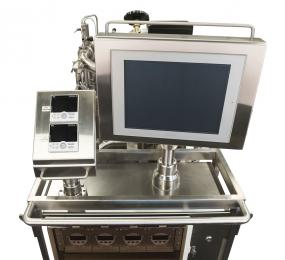 Insatech Pharma Flow Calibration Rig Display