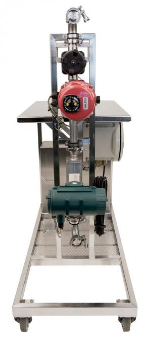 Insatech Pharma Quantity Calibration Rig connections